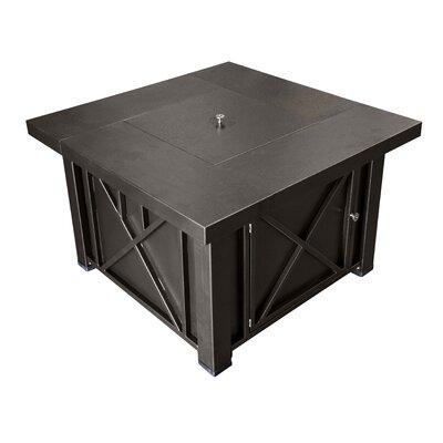 AZ Patio Heaters Lyons Steel Propane Fire Pit Table U0026 Reviews   Wayfair  Az Patio Heaters