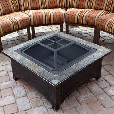 Az Patio Heaters Gsfpc Propane Fire Pit Antique Bronze Finish