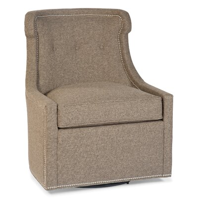 Fairfield Chair Transitional Swivel Wingback..