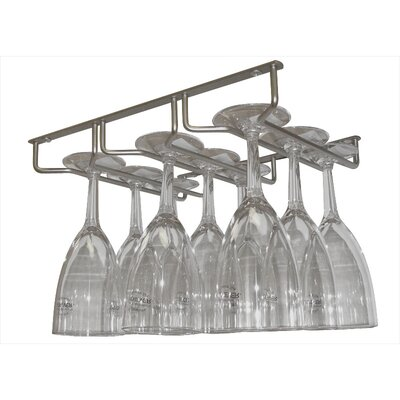 Epicureanist Sectional Hanging Wine Glass Rack