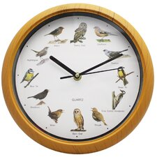 25cm Bird Sound Wall Clock
