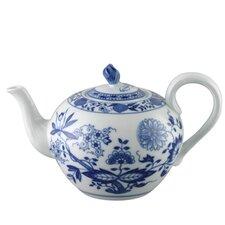 Teekanne Blau Zwiebelmuster aus Porzellan