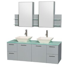 "Northampton 72 Double Bathroom Vanity Set reviews silkroad exclusive northampton 26"" single bathroom vanity set"