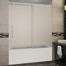 Frosted Shower Amp Bathtub Doors You Ll Love Wayfair
