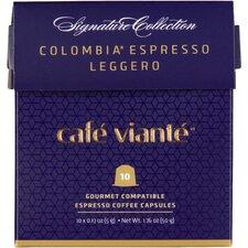 SpressoLuxe 80 Count Colombia Espresso Leggero Capsules for Nespresso Machine