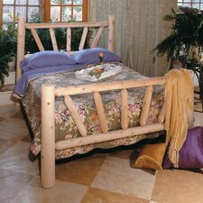 Rustic natural cedar furniture you 39 ll love wayfair for Log style beds