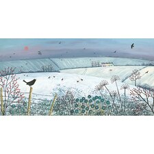 Evensong by Jo Grundy Canvas Wall Art