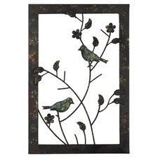 Bonita Birds Wall Accent Framed Graphic Art