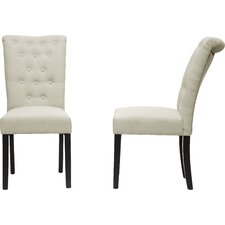 Baxton Studio Brittany Parsons Chair (Set of 2) by Wholesale Interiors