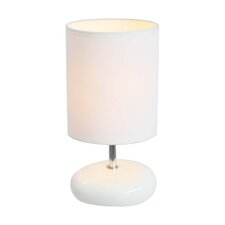 "Simple Designs Stonies 10.24"" Table Lamps (Set of 2) (Set of 2)"