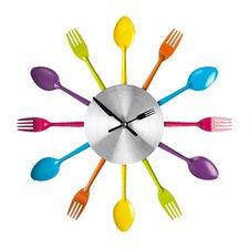 37cm Cutlery Wall Clock