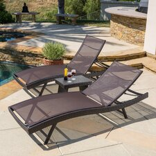 Wicker patio furniture you 39 ll love wayfair for Another name for chaise lounge