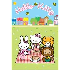 Innen-/Außenteppich Hello Kitty in Bunt