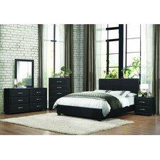 lorenzi panel customizable bedroom set bedroom set light wood vera