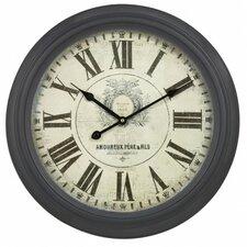 47cm Vintage Round Wall Clock
