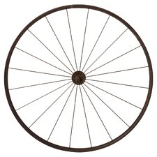 Vintage Wheel Photo Holder