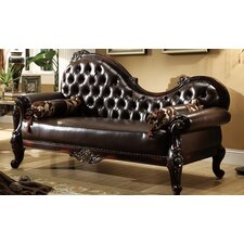Leather chaise lounge chairs you 39 ll love wayfair for Barcelona chaise lounge
