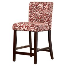 Fabric Full Back Counter Height Bar Stools You Ll Love