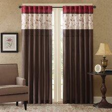 United curtain co batiste half rod pocket door curtain single panel - 62 Quot Amp Under Curtains Amp Drapes You Ll Love Wayfair