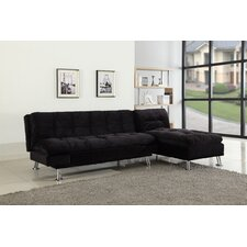 futon sleeper sofa and lounge chaise aria futon sofa bed