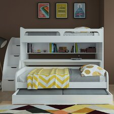 Bel Mondo Twin Bunk Bed with Trundle