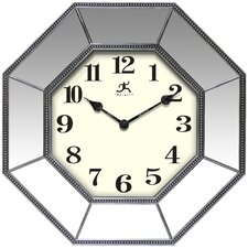 Silver Chrome Wall Clocks You Ll Love Wayfair