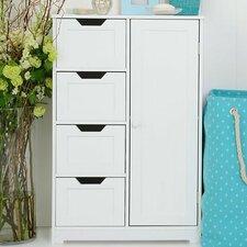 Chris 1 Door 4 Drawer Cabinet