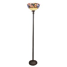 Torchiere floor lamps wayfair for Torchiere floor lamp base weight