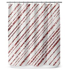 Striped Red Shower Curtains Youll Love