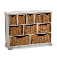 Country Farmhouse 10 Drawer Chest