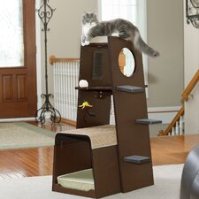 cat trees condos youll love wayfair cat furniture modern