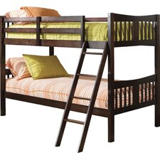 caribou solid hardwood twin bunk bed bunk bed deluxe 10th