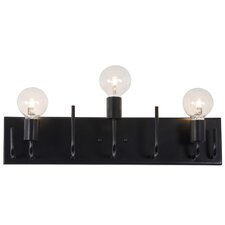quick view socket to me 3 light vanity light black vanity lighting