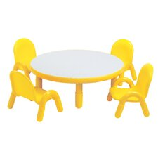 Round Kids Table Amp Chair Sets You Ll Love Wayfair