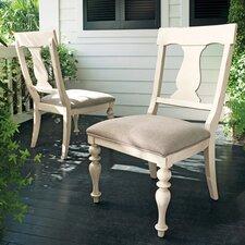 Paula Deen Home Side Chair in Linen (Set of 2) byPaula Deen Home