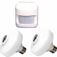 first alert motion sensing 1 light socket you 39 ll love wayfair. Black Bedroom Furniture Sets. Home Design Ideas