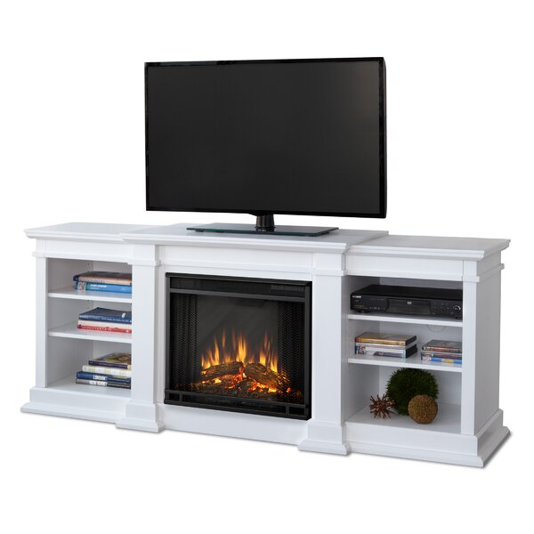 Fresno Media Console With Electric Fireplace Reviews