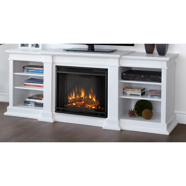 Fresno Media Console With Electric Fireplace Reviews Joss Main