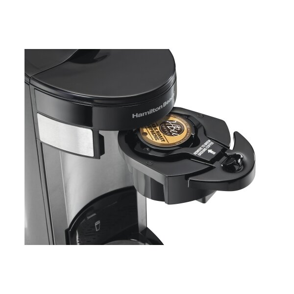 K Cup Coffee Maker Ratings : Hamilton Beach Flex Brew Single Serve K-Cup Coffee Maker & Reviews Joss & Main