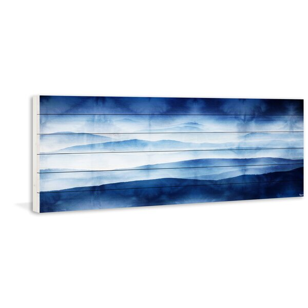 Blue Star Wall Decor : Blue mountains wall decor reviews joss main