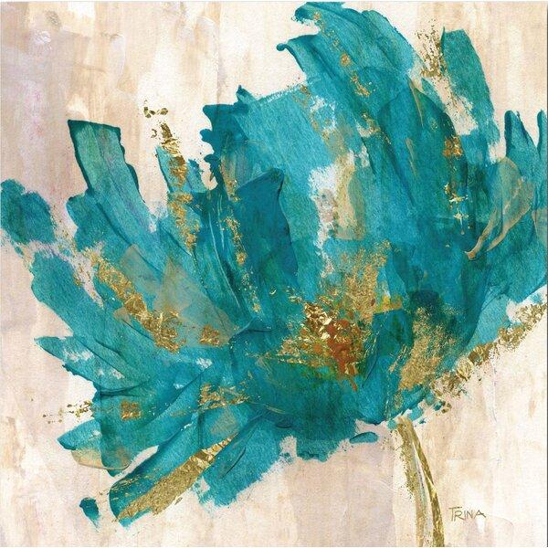 Contemporary Flower Canvas Print Amp Reviews Joss Amp Main