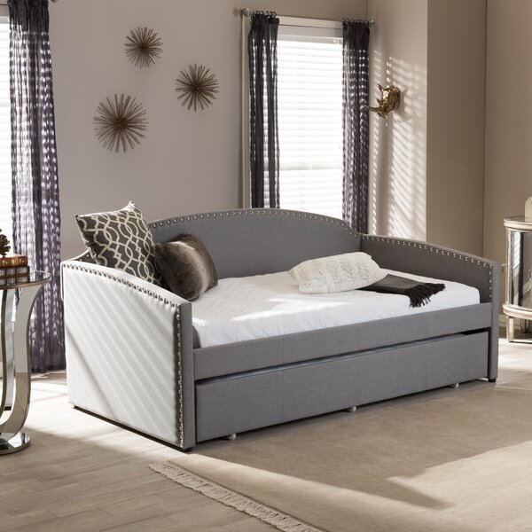 Baxton Studio Daybed With Trundle Amp Reviews Joss Amp Main