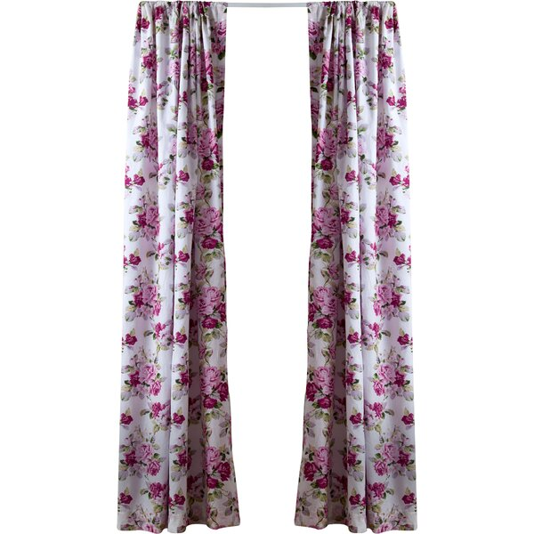 Lidia Rod Pocket Curtain Panel By Laura Ashley & Reviews