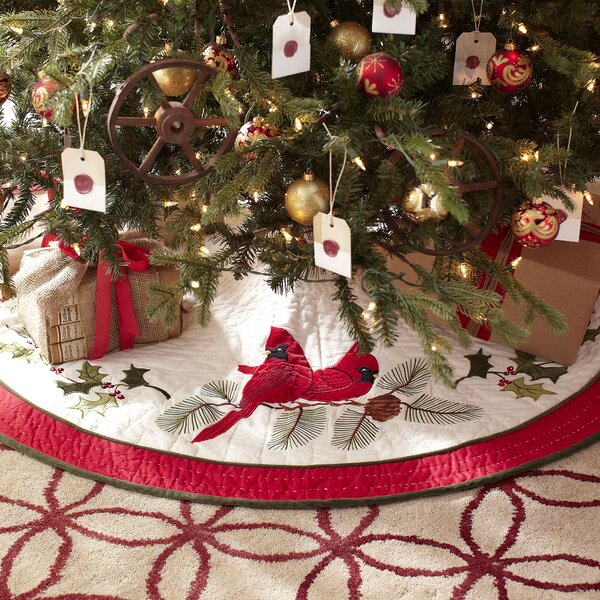 Birch lane cardinal noel tree skirt reviews