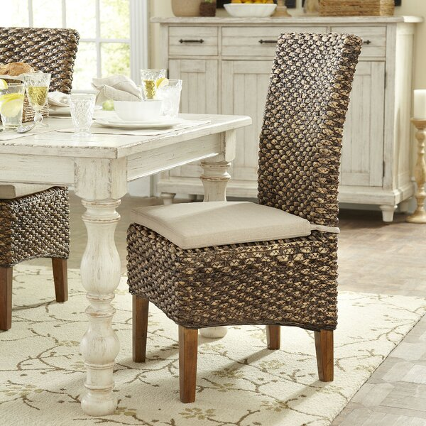 Birch Lane Woven Seagrass Side Chairs & Reviews