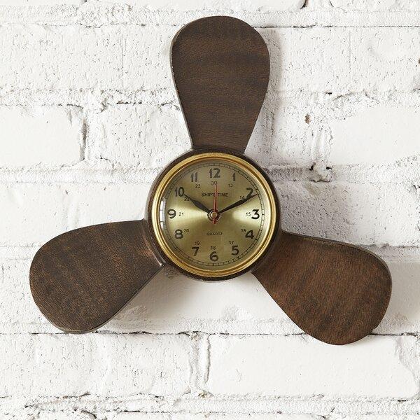 Propeller Wall Clock : Birch lane propeller wall clock reviews