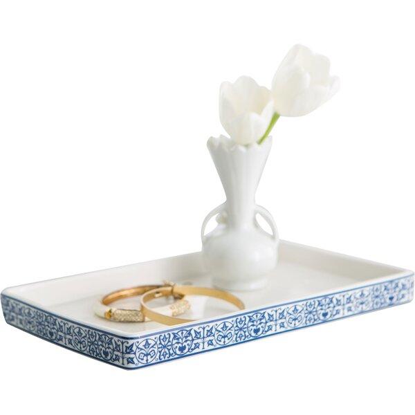 Birch lane porcelain bathroom accessory tray reviews for White ceramic bathroom tray