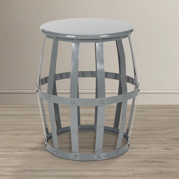 Birch Lane Allston Iron Garden Stool Amp Reviews Birch Lane