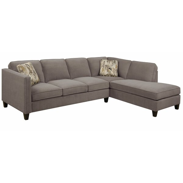 Faye 8623939 right facing sectional sofa reviews joss for 86 sectional sofa