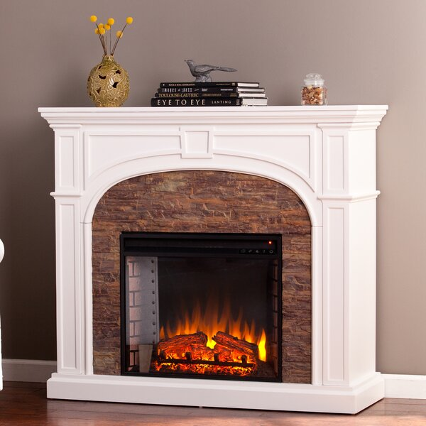 bairdford stacked effect electric fireplace